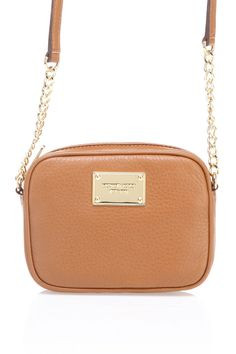 Michael Kors Jet Set Crossbody In Luggage I want this in black!
