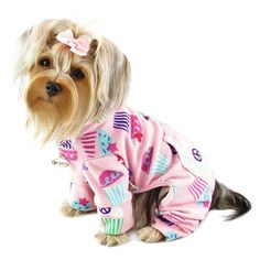 Doggie PJs, how cute!