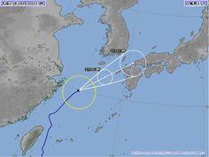 台風15号 2013年8月30日 15時時点