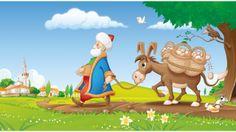 Nasreddin And Smell Of Soup - Nasreddin ve Çorbanın Kokusu Learn Turkish, Tinkerbell, Disney Characters, Fictional Characters, Disney Princess, Etsy, Spiritual, Cartoons, Learning