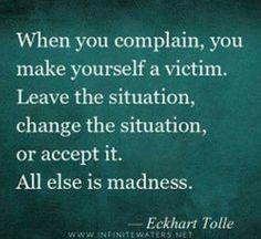 When you complain