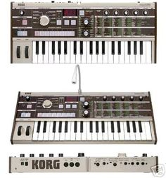 Micro Korg Synth. Oh the songwriting possibilities I would if only I had the money for this