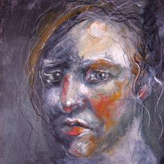 Self portrait by Gillian Lee Smith - Artist