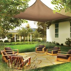 Features: -Basic install hardware kit includes install package for each connection point. -Sail. -Creates your own shade design. -Provides sun protection, innovative design and value in one ready