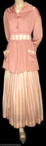 Edwardian Suit Jacket and Skirt - c. 1910 - The Barrington House Educational Center, L.L.C.