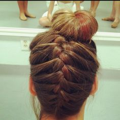 cool anime hairstyles : Competition hair :) #mybraid More