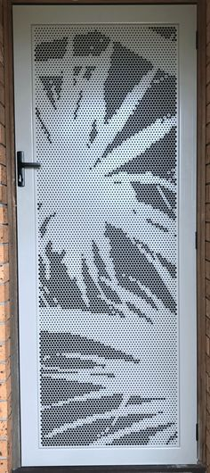 DECOVIEW HINGEDDECORATIVE SECURITY SCREEN DOORS.security screen doors. You can have the latest stylish laser cut screen design to compliment your house and make an impression.