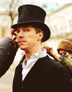 Benedict Cumberbatch being dapper.