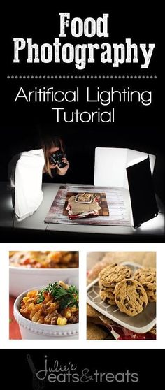 Food Photography Lighting with Artificial Lights! #photographylighting