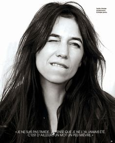 Charlotte Gainsbourg for Marie Claire France, February 2014
