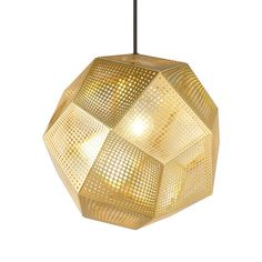 Tom Dixon - Etch Pendant Light - Brass