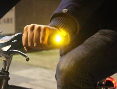 Bicycle riders won't have much of a problem even if their hand signals are not noticed on the road anymore once they have WingLights attached on their bike.