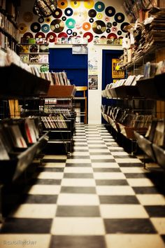 There's magic in all music... live is better, but we need to be able to take that magic home with us.  Long Live the Record Store, Chicago, IL.  ~ photography by Carol Fletcher