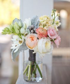 lovely pastel color spring bouquet with peonies My Flower, Fresh Flowers, Pink Flowers, Beautiful Flowers, Flower Types, Flower Colors, Simple Flowers, Peony Flower, Summer Flowers