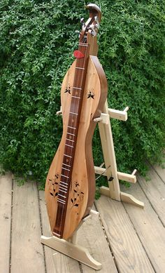 Appflutes Appalachian Mountain Dulcimer (hour-glass) - Dogwood19