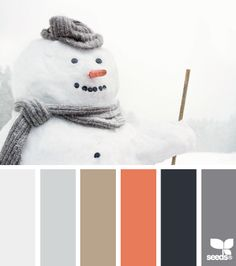Gray orange brown