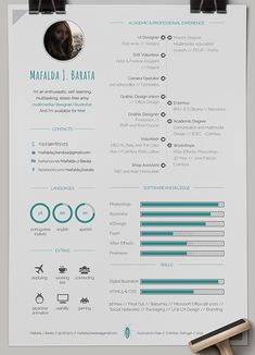 CV // Mafalda J. Barata on Behance