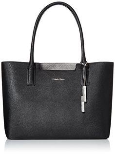Calvin Klein Calvin Klein Saffiano Tote Bag, Black/Eclipse, One Size Calvin Klein http://www.amazon.com/dp/B00YQQP2WA/ref=cm_sw_r_pi_dp_P9Sdwb1YMNRNT