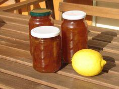 Deshilachado recipe: lemon jam.  Receta de mermelada de limón.