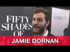 Fifty Shades of Grey Jamie Dornan Interview - New York Fan Premiere - YouTube