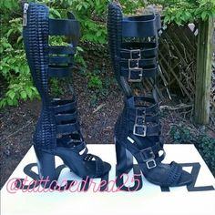 $288 Sale! •Schutz Heeled Gladiator Sandals• · Brand new with box, dust bag, papers, etc. Please note the box will not be shipped as it is way too big!!  · Fits true to size. · Black in color. · Sold out!!! · NO trades! · Want it for cheaper? Check it out on my Vinted account. xo_a.lyn.w_xo · This item is firm @ $288--on here! All offers will be declined! · There is a 'NO returns' policy. Please be advised! · NO discount will be given if bundled with other items! SCHUTZ Shoes Sandals