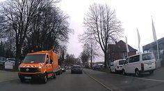 Heute in Deutschland - Autoreise durch Stadt Kiel - Dashcam-Videos aus D...