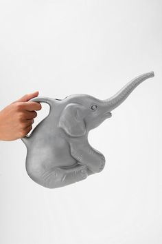 Elephant Watering Can $12. Want one for everyone! I think I need it.
