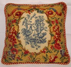 Country French Cottage Rooster Pillow by TsEclecticTreasures, $52.99