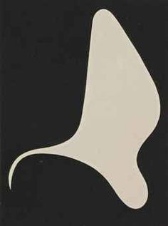 Jean (Hans) Arp (1886-1966)   Sculpture planimétrique ...