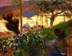 Paul Gauguin - Martinique Scene