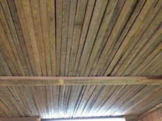 Tobacco Sticks of ceiling