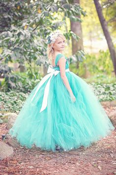 Hey, I found this really awesome Etsy listing at http://www.etsy.com/listing/165650408/teal-flower-girl-tutu-dress