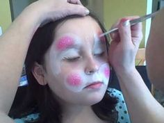 rabbit face painting video