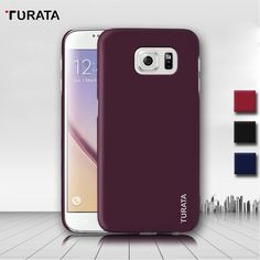 Original Turata Case For Samsung Galaxy S6 / S6 Edge / S6Edge Plus Luxury Ultra Thin Coated Protective Cover PC Back Shell Funda