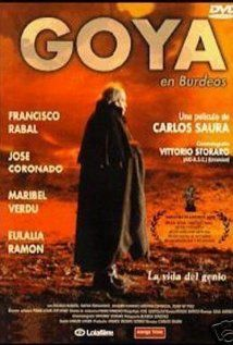 Goya in Bordeaux (1999). Pretty good flick about the Spanish painter.