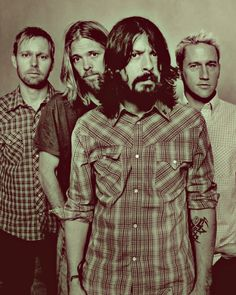 Foo Fighters. Saw these guys live. Best concert of my LIFE!  Rocked my socks off! ♥