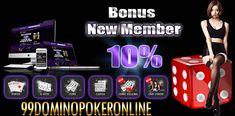 Permainan judi domino poker online terpercaya dengan minimal deposit 10rb dan permainan yang menyenangkan dapat ditemukan di situs 99dominopokeronline.