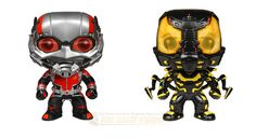 The next evolution of the Marvel Cinematic Universe brings Funko POP! Movies Ant-Man Bundle -- Ant-Man and Yellow Jacket Vinyl figures! Each figure measures approximately 3 3/4 inches tall, now you can bring a part of the marvel magic home! #antman #funko #bundleset #vinylpop #toy #collectibles