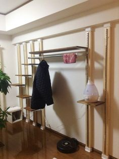 f:id:zmajp:20141213182215j:plain Diy Cat Tree, Hanger Rack, Cat Room, Finding God, Room Closet, Cat Furniture, Good Job, House Rooms, Storage Spaces