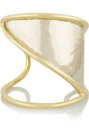 Horizon gold and silver-tone cuff
