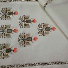 Cross Stitch Borders, Compass Tattoo, Machine Embroidery, Sketches, Design, Tablecloths, Embroidery, Hardanger, Drawings