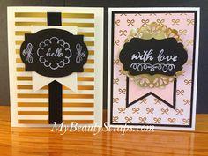 BeautyScraps: My Paper Pumpkin - August 2015 Chalk It Up To Love Kit with Alternate Ideas!