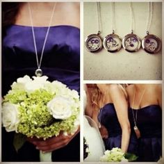 Personalized bridesmaids gifts. Origami owl living Lockets are perfect.  http://www.4you.origamiowl.com