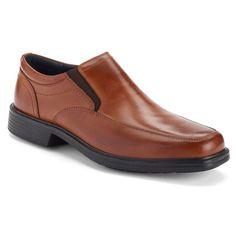 Nunn Bush Calgary Men's Dress Loafers, Size: medium (9.5), Red/Coppr (Rust/Coppr)