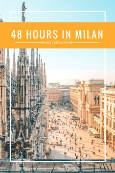 Milan is a beautiful place, but it is also easy to get overwhelmedby the city and the many tourists. I am here to help and have put together a review of the biggest sights in Milan and some travel tips, so you will know how to spend your first 48 hours in Milan.