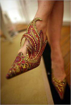 Dragon shoes.