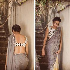 Modern & graceful that's beauty of a saree