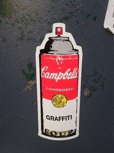 Fancy - Campbell's Graffiti Soup by Rene Gagnon