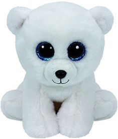 Ty Classic Arctic - Polar Bear Medium Collectable soft Beanie babies toy Brightly coloured design Highly tactile plush fabric Part of Ty's hugely popular Beanie Boo collection Ty Beanie Boos, Beanie Babies, Dog Beanie, Beanie Boo Party, Arctic Polar Bears, White Polar Bear, Ours Boyds, Ty Peluche, Baby Girls