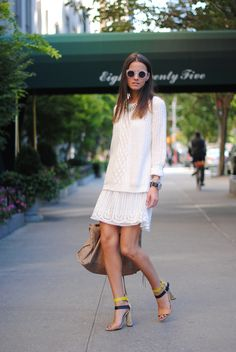 easy white layers